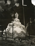 Movie/TV Memorabilia, Norma Shearer (67) vintage behind the scenes production photographs from Marie Antoinette including many unpublished....
