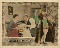 Collection of (16) Sexy Lingerie pose lobby cards with remarkable silent-era design