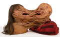 """Movie/TV Memorabilia, Robert Englund """"Freddy Krueger"""" and Lisa Wilcox """"Alice"""" morphing FX bust from A Nightmare on Elm Street 5: The Dream Child...."""