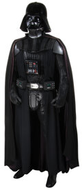 """Movie/TV Memorabilia, Industrial Light and Magic life-size """"Darth Vader"""" figure from Star Wars...."""
