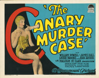 Louise Brooks title-lobby card for The Canary Murder Case