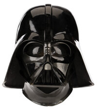"""David Prowse """"Darth Vader"""" screen used signature mask and helmet from Star Wars: Episode V - The Empire Strike..."""