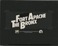Movie/TV Memorabilia, Opening title cards (2) for Fort Apache the Bronx and French Connection Part 2....