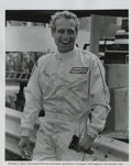Movie/TV Memorabilia, Paul Newman and Robert Wagner (11) vintage photographs in racing suits, cars, and motorcycles from Winning. ...