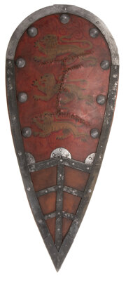 """Sean Connery """"King Richard"""" shield from Robin Hood: Prince of Thieves"""