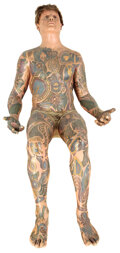 """Movie/TV Memorabilia, Rod Steiger """"Carl"""" life-size figure from The Illustrated Man...."""