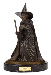 """""""Wicked Witch of the West"""" bronze sculpture from The Wizard of Oz"""