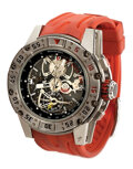 Movie/TV Memorabilia, Barney Ross signature Richard Mille replica chronograph watch from The Expendables 3. ...