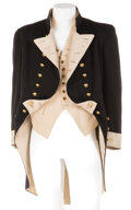 """Movie/TV Memorabilia, Charles Laughton """"Captain Bligh"""" Royal Navy officer coat and vest from Mutiny on the Bounty...."""