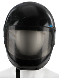 """Sean Connery """"James Bond"""" motorcycle helmet from Never Say Never Again"""