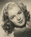 Movie/TV Memorabilia, Norma Jeane Dougherty (Marilyn Monroe) signed photograph inscribed to her surrogate parents, Erwin and Grace Goddard as a Chri...