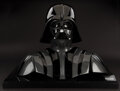 """Movie/TV Memorabilia, """"Darth Vader"""" helmet, facemask and chest armor from Star Wars: The Empire Strikes Back with Lucasfilm Ltd. signed letter of au..."""