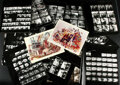Movie/TV Memorabilia, Willy Wonka & the Chocolate Factory behind-the-scenes contact prints....