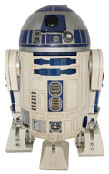 """Complete """"R2-D2"""" unit assembled from original components spanning the original Star Wars trilogy and Episodes..."""