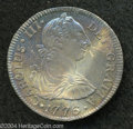 Mexico: , Mexico: Carlos III 2 Reales 1776FM, KM88, nicely toned, choiceAU-UNC....