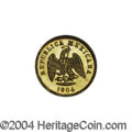 Mexico: , Mexico: Republic Gold 1 Peso 1904 Cn/Mo-H, KM-410.2, Choice BU. Abit scarcer than the normal type for this year. . From theSavan...