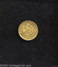 Mexico: , Mexico: Republic Gold 1 Peso 1899 Go-R, KM-410.3, XF. . From theSavannah River Site Collection....
