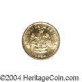 Mexico: , Mexico: Republic Gold 1 Peso 1894 Mo-M, KM-410.5, BU. From theSavannah River Site Collection. ...