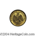 Mexico: , Mexico: Republic Gold 1 Peso 1901/801 Mo-M, KM-410.5, BU. . Fromthe Savannah River Site Collection....