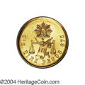 Mexico: , Mexico: Republic Gold 10 Pesos 1887 Go-R, KM-413.5, AU. Exceedinglyrare, with a miniscule mintage of only 80 pieces. One of the gre...