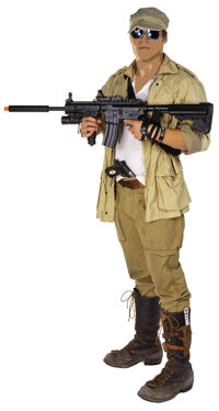 Barney Ross Mogadishu assault ensemble from The Expendables 3