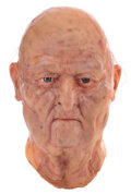 """Movie/TV Memorabilia, David Bowie """"John Blaylock"""" production made Dick Smith old-age make-up appliance applied to a Bowie life cast for The Hunger...."""