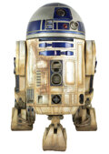 Movie/TV Memorabilia, R2-D2 full-size model from Star Wars - Episode IV: A New Hope created by Industrial Light & Magic....