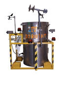 """Movie/TV Memorabilia, """"Dorothy IV"""" storm chasing prop created for Twister...."""
