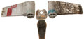 Movie/TV Memorabilia, X-Wing Fighter Pieces from Star Wars: Episode IV - A New Hope....