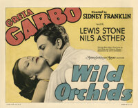 Greta Garbo (4) lobby cards for Wild Orchids