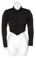"""Movie/TV Memorabilia, """"Scarlett O'Hara"""" black period top from Gone With the Wind. ..."""