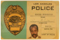"""Movie/TV Memorabilia, Danny Glover """"Roger Murtaugh"""" LAPD ID badge and holder from Lethal Weapon 3...."""