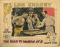 Movie Posters, Lon Chaney lobby card for The Road to Mandalay. . ...