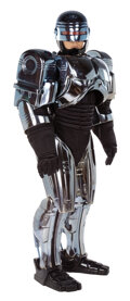 """Movie/TV Memorabilia, """"Robocop"""" full-size wearable promotional touring costume with case. ..."""