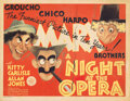 Movie Posters, The Marx Brothers title-lobby card for A Night at the Opera . ...