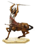 Movie/TV Memorabilia, The Chronicles of Narnia: The Lion, the Witch and the Wardrobe (7) Weta Workshop-made collectible figures. ...