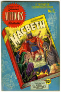 Golden Age (1938-1955):Classics Illustrated, Stories by Famous Authors Illustrated #6 Macbeth (Seaboard Pub., 1950) Condition: VG/FN....