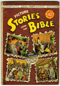 Golden Age (1938-1955):Religious, Picture Stories from the Bible Complete New Testament Edition (EC, 1946) Condition: VG/FN....