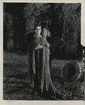 Movie/TV Memorabilia, London After Midnight (4) contact print photographs featuring Edna Tichenor and 2-with Lon Chaney, Sr....