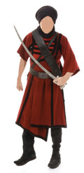 """Movie/TV Memorabilia, Complete """"Thuggee guard"""" costume from Indiana Jones and the Temple of Doom. ..."""