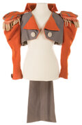"""Movie/TV Memorabilia, Prince Denis """"Sergeant-at-Arms"""" jacket from The Wizard of Oz...."""