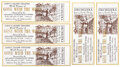 Movie/TV Memorabilia, Set of (5) World Premiere Gone With the Wind tickets from MGM publicist William R. Ferguson. ...