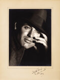 Movie/TV Memorabilia, Cary Grant signed vintage oversize portrait photograph by Otto Dyer inscribed to John Engstead. ...