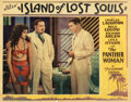 Movie Posters, Charles Laughton lobby card for Island of Lost Souls. . ...