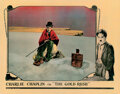 Movie Posters, Charlie Chaplin lobby card for The Gold Rush. . ...