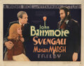 Movie Posters, John Barrymore title-lobby card for Svengali. . ...