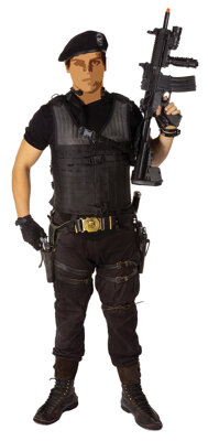 Barney Ross elaborate tactical ensemble from The Expendables 3