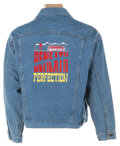 Movie/TV Memorabilia, Horror films (4) original crew jackets from The Hollowman, Tremors (working title: Beneath Perfection), Scary Movie 3, Wolf, a...