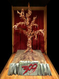 """Movie/TV Memorabilia, """"Tree of the Dead"""" 8-foot tall set piece from 300...."""