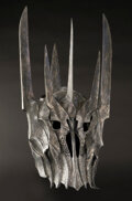 """Movie/TV Memorabilia, Sala Baker """"Sauron"""" helmet from The Lord of the Rings...."""